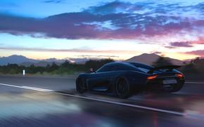Picture Koenigsegg, game, Regera, Forza Horizon 3