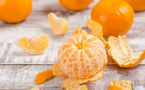 Picture slice, citrus, Mandarin