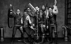 Picture Metal, Band, Till Lindemann, rammstein, Paul Landers, Christoph Schneider, Oliver Riedel, Richard Kruspe, Christian Lorenz