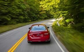 Picture red, Honda, Accord, sedan, 2018, feed, four-door, 2.0T Sport