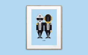 Picture Music, Frame, Daft Punk, Thomas Bangalter, Daft Punk, Mask, Bang age, Guy Manuel de Homem …