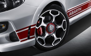 Picture Disk, Wheel, 2010, Fiat, Abarth, Brake disc, Abarth Punto Evo, Abarth Punto Evo (199)