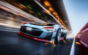 Picture Audi, Auto, Machine, Speed, VGT, Hybrid, Sports car, GT Sport, Transport & Vehicles, Audi e-tron …