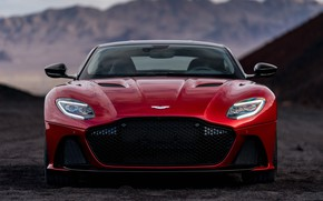 Picture Aston Martin, DBS, Superleggera, front view, 2018