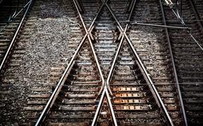 Picture x-tracks, Eat, tram tracks