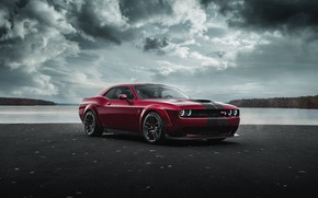 Picture Dodge, Challenger, Hellcat, SRT, Widebody, 2019, by Jimmy Zhang