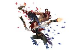 Picture Miss Fortune, Lee Sin, Legends of Runeterra