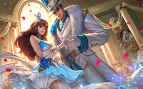 Picture Diao Chan, Arena of Valor, Strike of Kings, Lu Bu