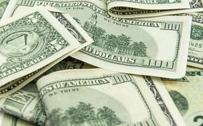 Picture Bills, Money, Dollar, Currency, Dollars, 100, Closeup, Банкноты