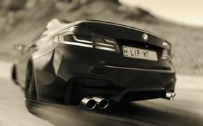 Picture HDR, BMW, Drift, Game, BMW M5, UHD, M5, Xbox One X, F90, Forza Horizon 4, …