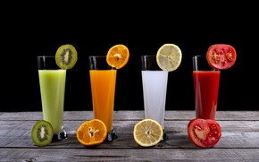 Picture fruit, fresh, juices