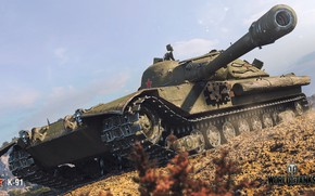 Wallpaper WoT, World of Tanks, Wargaming, K-91