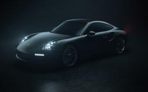 Picture Auto, 911, Porsche, Machine, Grey, Porsche 911, Rendering, Turbo S, Porsche 911 Turbo S, Transport …