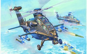 Picture China, China, CAIC WZ-10, attack helicopter, PLA