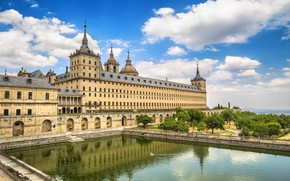 Picture Spain, the monastery, Palace, Madrid, Escorial