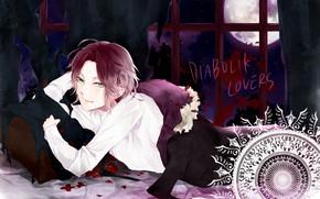 Picture Background, vampire, guy, Diabolik Lovers, the devil's beloved, Wright