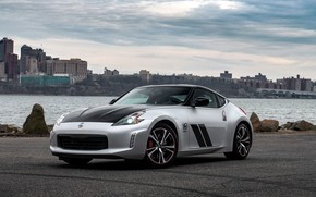 Picture coupe, Nissan, 370Z, 50th Anniversary Edition, 2020, spezzare, 2019, black and silver grey