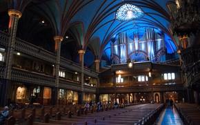 Picture Canada, Montreal, Notre Dame Basilica