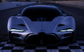 Picture supercar, prototype, Hyperion, 2020, XP-1, водородный