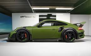 Picture 911, Porsche, side view, Turbo S, TechArt, 2019, GT Street RS
