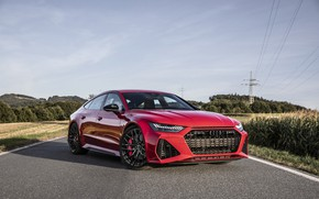 Picture AUDI, RED, RS7