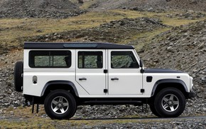Picture Land Rover, side view, 2009, Defender, Limited Edition