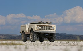 Picture tuning, Ford, 1966, 2018, Bronco, frame, ICON Bronco Derelict Roadster
