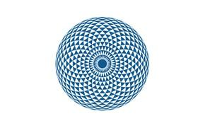 Picture eye, mandala, geometric shapes