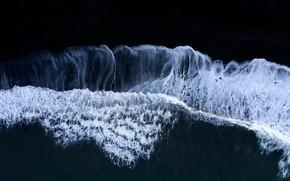 Picture wave, nature, shore