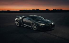 Picture coupe, the evening, Bugatti, Chiron, 2020, Chiron Pur Sport