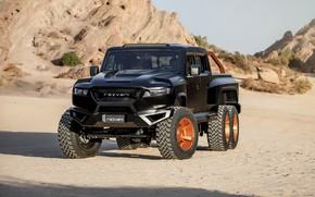 Picture front, pickup, Rezvani, 2020, Hercules 6x6