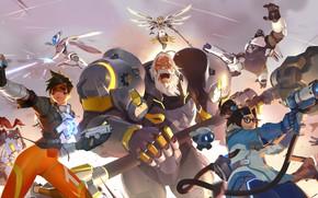 Picture game, Blizzard, art, Blizzard Entertainment, 2019, Overwatch 2