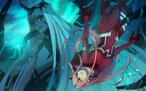 Picture Darling In The Frankxx, Cute in France, girls, anime