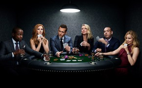 Picture actors, the series, Movies, Suits, Force majeure, playing cards