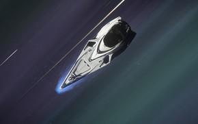 Picture space, speed, spaceship, Star Citizen, hyperspeed