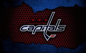 Picture wallpaper, sport, logo, NHL, Washington Capitals, hockey