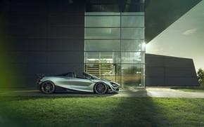 Picture machine, McLaren, spider, side view, Novitec, 720S