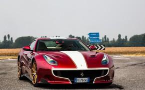 Picture Ferrari, F12, Wheels, Bronze, TDF