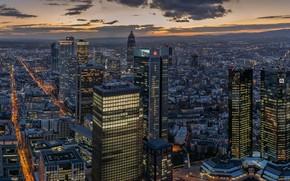 Picture night, the city, Frankfurt