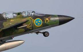 Picture Fighter, Pilot, Chassis, Cockpit, You CAN, Swedish air force, Can 37 Viggen, Gdynia Aerobaltic 2019