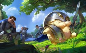 Picture Poro, Demacia, Legends of Runeterra