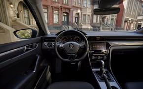 Picture interior, Volkswagen, sedan, Passat, 2020, 2019, US Version
