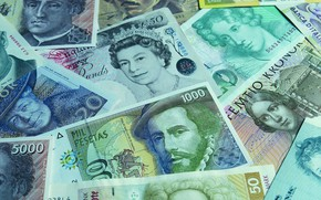 Picture money, currency, banknotes