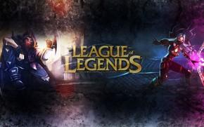 Picture girl, guy, League of Legends, League of legends