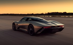 Picture sunset, McLaren, speed, the evening, supercar, hypercar, 2019, Speedtail