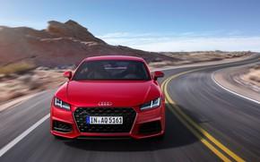 Picture front view, Coupe, Quattro, 2018, Audi TT, 45 TFSI