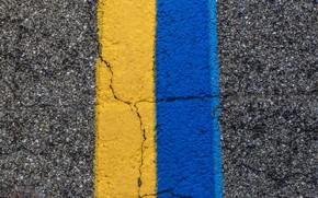 Picture road, color, line