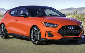 Picture Orange, Hyundai, Veloster