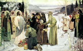 Picture Nesterov, Mikhail Vasilyevich, Holy Russia, 1901-1905