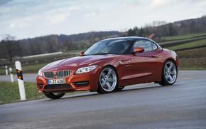 Picture road, asphalt, BMW, Roadster, 2013, E89, BMW Z4, Z4, sDrive35is